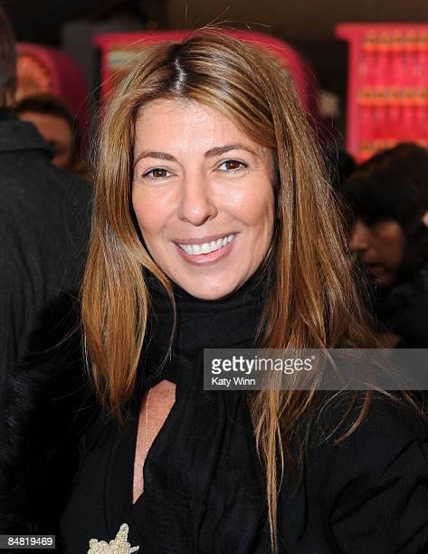 Nina Garcia attends MercedesBenz Fall 2009 Fashion Week at Bryant Park on February 16 2009 in New York City