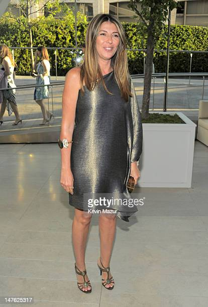 Nina Garcia attends the 2010 CFDA Fashion Awards at Alice Tully Hall, Lincoln Center on June 7, 2010 in New York City.
