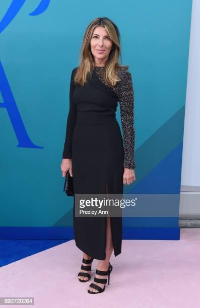 Nina Garcia attends the 2017 CFDA Fashion Awards at Hammerstein Ballroom on June 5 2017 in New York City