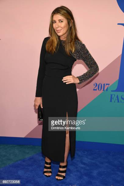Nina Garcia attends the 2017 CFDA Fashion Awards at Hammerstein Ballroom on June 5 2017 in New York City