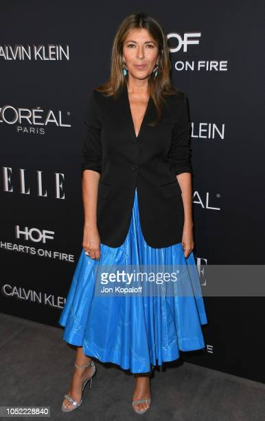 Nina Garcia attends the 25th Annual ELLE Women In Hollywood Celebration at Four Seasons Hotel Los Angeles at Beverly Hills on October 15 2018 in Los...