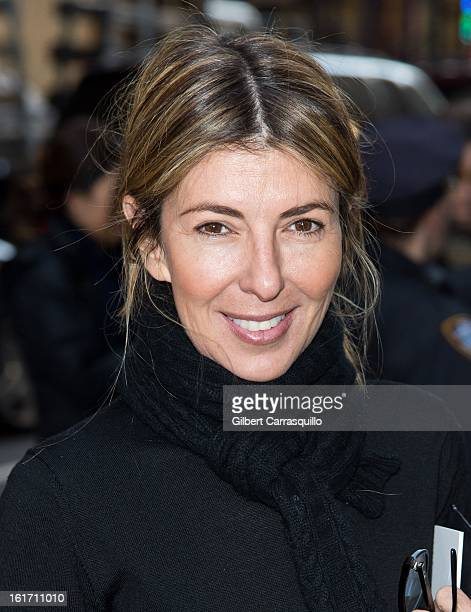 Nina Garcia attends the Calvin Klein Collection 2013 MercedesBenz Fashion Show at 205 West 39th Street on February 14 2013 in New York City