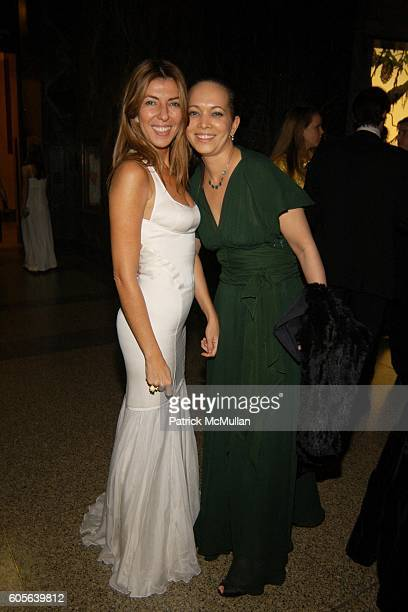 Nina Garcia Conrod and Miguelina Gambaccini attend The Winter Dance 2006 Desert Oasis Sponsored by VERSACE at The American Museum of Natural History...