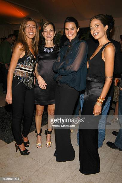 Nina Garcia Cynthia Rowley Sara Ruffin and Allison Sarofim attend Salvatore Ferragamo and Allison Sarofim celebrate the publication of The Debutante...