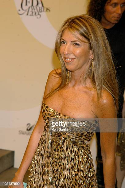 Nina Garcia during 2005 CFDA Fashion Awards Outside Arrivals at New York Public Library in New York City New York United States