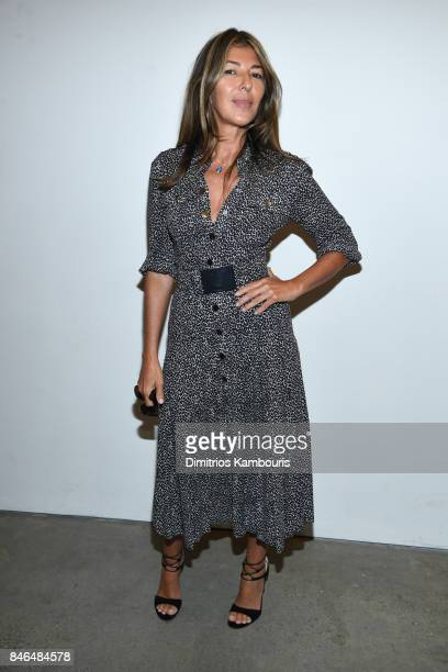 Nina Garcia poses backstage at Michael Kors Collection Spring 2018 Runway Show at Spring Studios on September 13 2017 in New York City