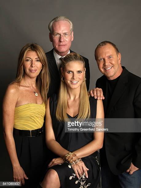 Nina Garcia Tim Gunn Heidi Klum and Michael Kors