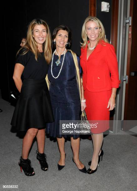 Nina Garcia Town Country Editor inChief Pamela Fiori and honoree Lorri Unumb attend the Women Who Make a Difference Awards hosted by Longines and...