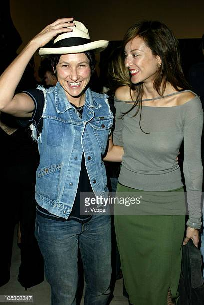 Nina Garduno and Lola Glaudini during Elle Magazine Party Sponsored by Motorola at the Gagosian Gallery at Gagosian Gallery in Beverly Hills...