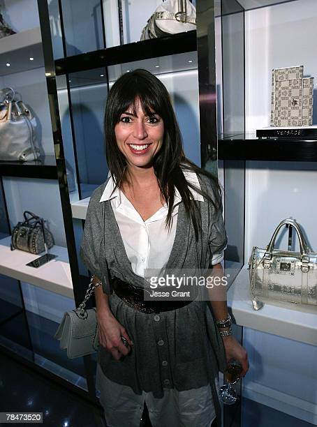 "Nina Gelb at the Versace Presents ""Chocolate and Champagne"" event on December 13, 2007 at Versace in Beverly Hills, California."