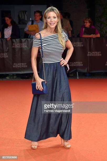 Nina Gnaedig attends the 'Berlin Fallen' Premiere during Munich Film Festival 2017 at Gasteig on June 28 2017 in Munich Germany