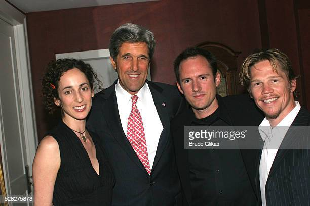 Nina Goldman John Kerry Brett Eagan and Jack Noseworthy