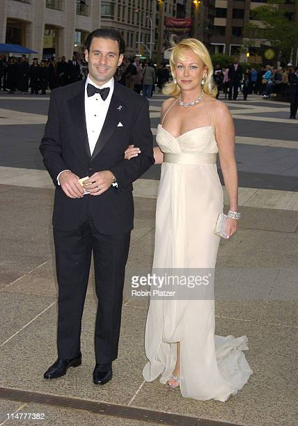 Nina Griscom and guest during 65th Annual American Ballet Theatre Spring Gala at The Metropolitan Opera House at Lincoln Center in New York City New...