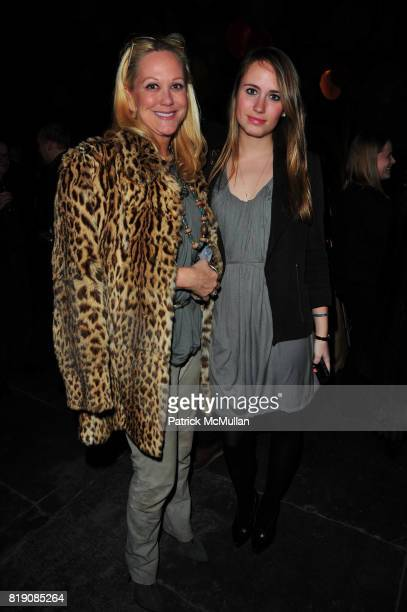 Nina Griscom and Lily Baker attend DANCING ACROSS BORDERS by Anne Bass Premiere Arrivals and AfterParty at SVA Theater and Cedar Lake Studios on...
