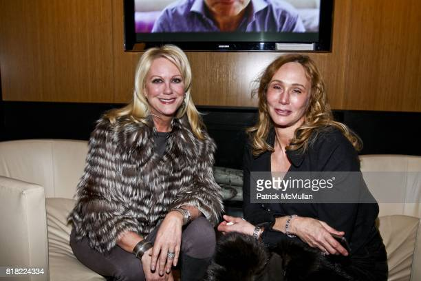 Nina Griscom and Patti Raynes attend CELEBRATION OF CAMPION PLATT'S PUBLICATION OF MADE TO ORDER at The Manhattan Club on November 3 2010 in New York...