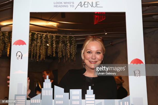 Nina Griscom attends AVENUE Celebrate its two Newest Contributing Editors Nina Griscom and Anthony HadenGuest on February 13 2018 in New York City