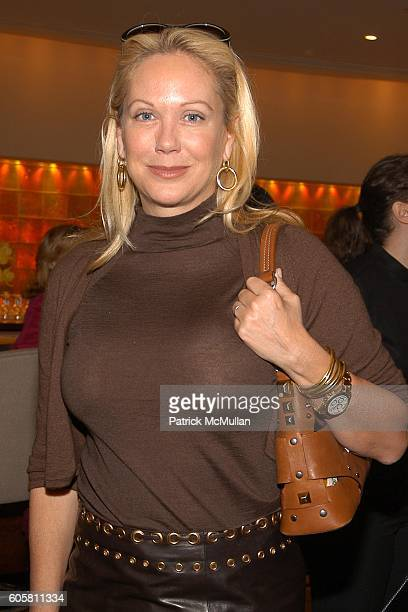 Nina Griscom attends FIT's Couture Council to Honor Ralph Rucci at Brasserie 8 1/2 on October 19 2006 in New York City