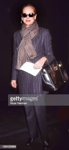 Nina Griscom fashion show Bryant Park tents New York New York 1999