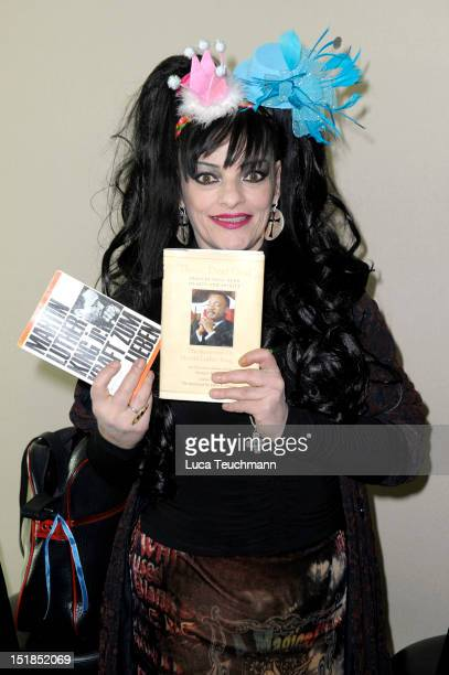 Nina Hagen attends the photocall 'Berliner Fest der Kirchen' at the TV Tower on September 12 2012 in Berlin Germany