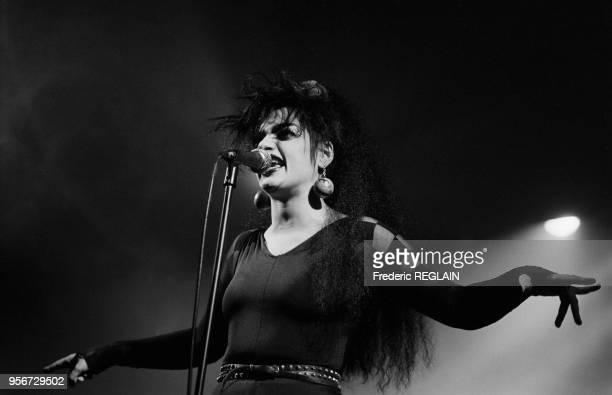 Nina Hagen en concert au Zenith de Paris en novembre 1986 France