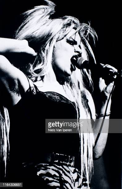 Nina Hagen performing on stage Paradiso Amsterdam Netherlands 12th August 1987