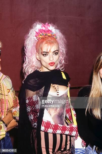 Nina Hagen sur scène le 25 juillet 1992 à Montréal Canada