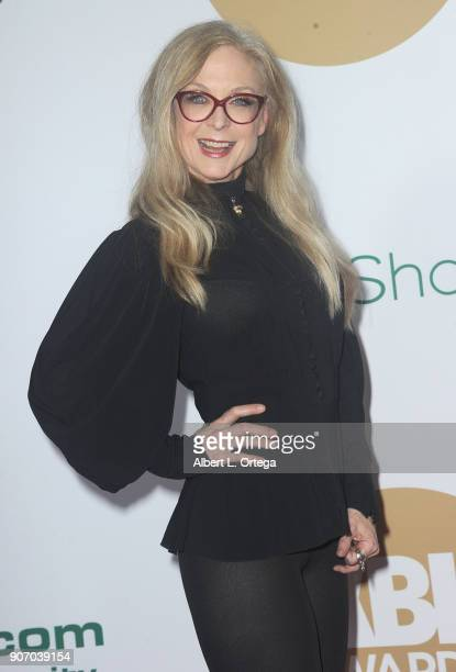 Nina Hartley arrives for the 2018 XBIZ Awards held at JW Marriot at LA Live on January 18 2018 in Los Angeles California