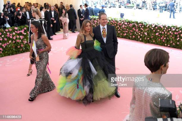 "Nina Hollein and Max Hollein attend The Metropolitan Museum Of Art's 2019 Costume Institute Benefit ""Camp: Notes On Fashion"" at Metropolitan Museum..."