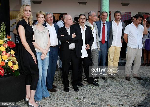 Nina Hoss Alba Rohrwacher Jean Marie Blanchard Pascal Bonitzer Frederic Maire Luis Minarro Marco Solari Jonathan Nossiter and Hong Sangsoo attend the...