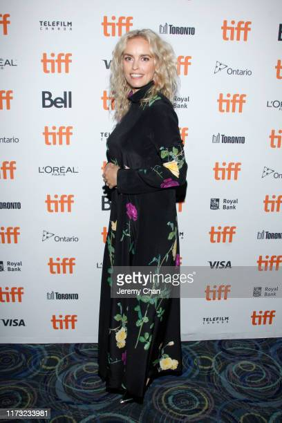 """Nina Hoss attends the """"Pelican Blood"""" photo call during the 2019 Toronto International Film Festival at Scotiabank Theatre on September 08, 2019 in..."""