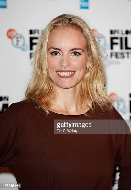 Nina Hoss attends the red carpet arrivals of Phoenix during the 58th BFI London Film Festival at Odeon West End on October 15 2014 in London England