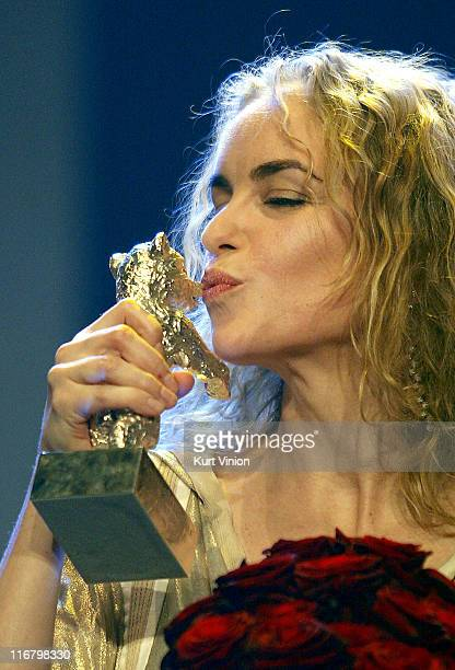 Nina Hoss during 57th Berlinale International Film Festival - Golden Bear Awards Show at Berlinale Palast in Berlin, Germany.