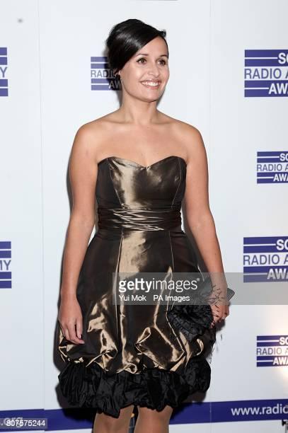 Nina Hossain arriving for the Sony Radio Academy Awards 2010 at the Grosvenor House Hotel London