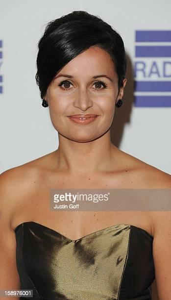 Nina Hossain Attends The Sony Radio Academy Awards At The Grosvenor House Hotel London