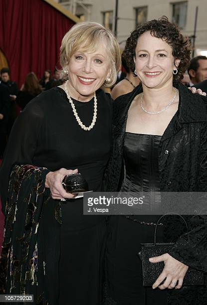 Nina Jacobson of Buene Vista and mother Sandy during The 77th Annual Academy Awards Executive Arrivals at Kodak Theatre in Hollywood California...