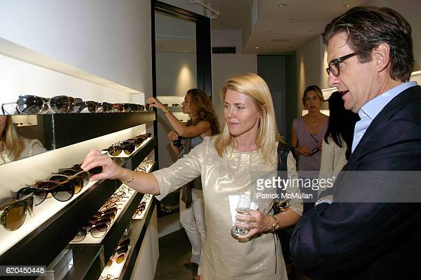Nina Junot and Alessandro Lanaro attend MODO Opens First Global Flagship Store at MODO Downtown Store on June 5 2008 in New York City