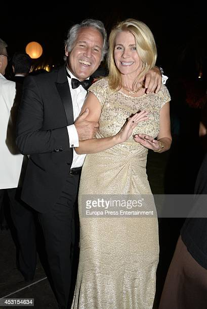 Nina Junot attends 'Concordia Charity Party' on August 1 2014 in Marbella Spain
