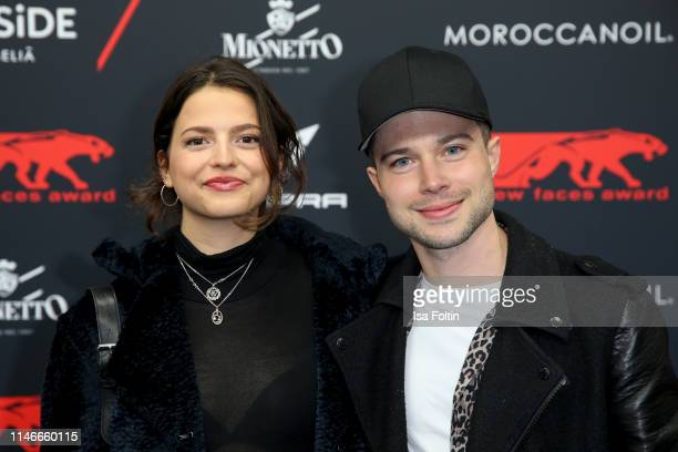Nina Kaiser and German actor Jascha Rust attend the New Faces Award Film at Umspannwerk Kreuzberg on May 2, 2019 in Berlin, Germany.