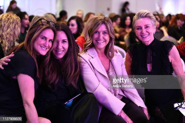 Nina Kotick Price Arana Karen Murphy O'Brien and Shelley Reid at the Visionary Women Presents Female Power Chefs Cooking All The Way To The Top on...