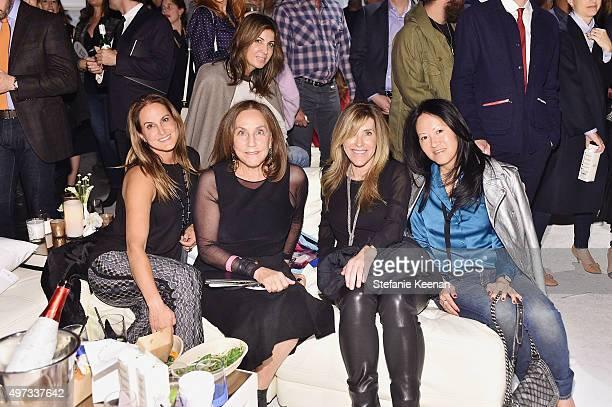 Nina Kotik Jane Glassman Nathalie Marciano and Julie Miyoshi attend the LAXART's 10 Year Anniversary Benefit Presented By Distinct on November 15...