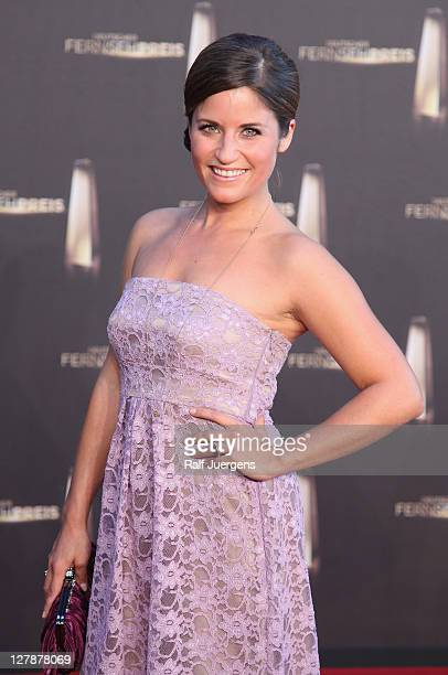 Nina Kunzendorf attends the German TV Award 2011 at Coloneum on October 2 2011 in Cologne Germany