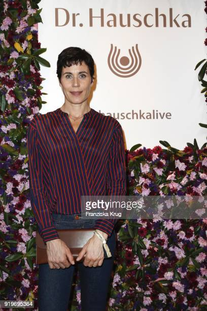 Nina Kunzendorf during DrHauschka at the Medienboard BerlinBrandenburg Reception during the 68th Berlinale International Film Festival Berlin at The...