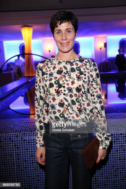 Nina Kunzendorf during the ARD advent dinner hosted by the program director of the tv station Erstes Deutsches Fernsehen at Hotel Bayerischer Hof on...