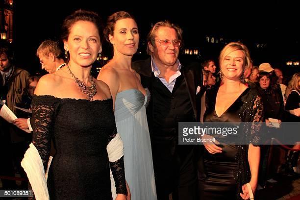 Nina Kunzendorf Michael Brandner Ehefrau Karin Brandner Name auf Wunsch 20 Verleihung Hessischer Film und Kinopreis 2008 Alte Oper Frankfurt Hessen...