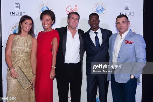 Nina lamia Duchene Xin fu Michael Capponi Kesney Philippe Antonio Misuraca attend 2nd Annual Global Empowerment Mission Gala at 1 Hotel South Beach...