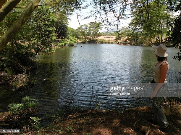 Nina Langer SafariAusflug vom S e v e r i n S a f a r i C a m p Tsavo West Nationalpark Mzima Springs KitaniRegion zwischen Mombasa und Nairobi Kenia...
