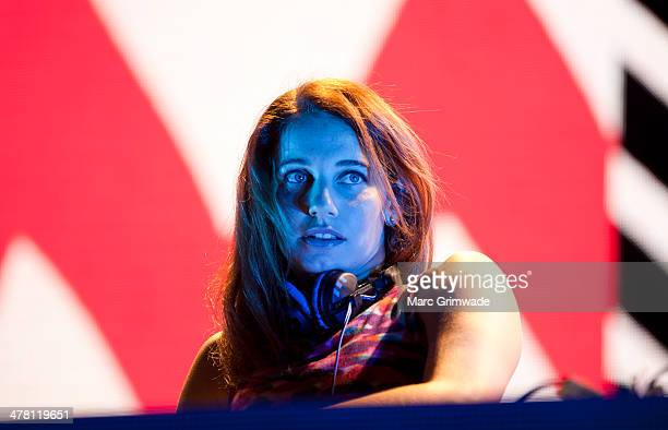 Nina Las Vegas warms up for Pharrell at The Riverstage on March 12 2014 in Brisbane Australia