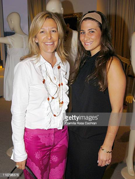 """Nina Lawrence and Susan Morjain during W Magazine's """"The New York Affair"""" Party at Penthouse Four in New York City, New York, United States."""