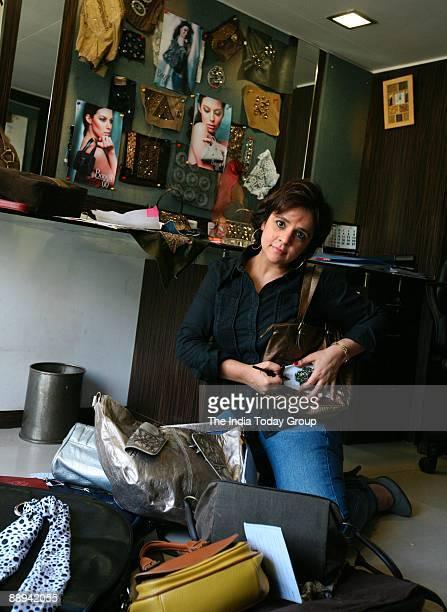 Nina Lekhi Bag Designer and owner of Baggit in Mumbai Maharashtra India