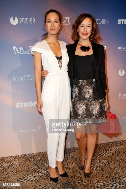 Nina Maleika and Maike von Bremen attend the 'Maleika' Premiere at Zoo Palast on October 4 2017 in Berlin Germany